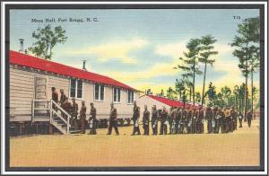 North Carolina, Fort Bragg Mess Hall - [NC-042]