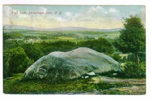 Sacandaga Park to Amsterdam, New York used 1908 Postcard, High Rock