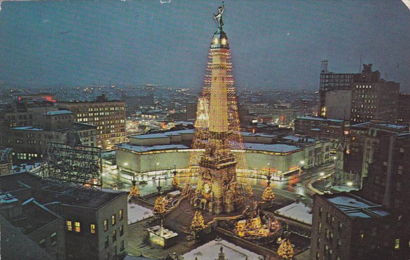 Christmas In Indianapolis.World S Largest Christmas Tree Indianapolis Indiana 50