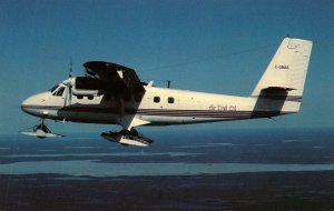 Air Tindi DeHavilland DHC-6 Twin Otter 300 Northwest Of Yellowknife