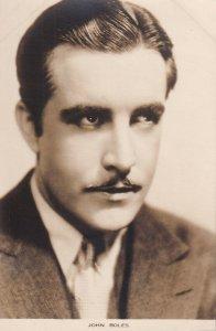 RP: JOHN BOLES, American singer, 1930s