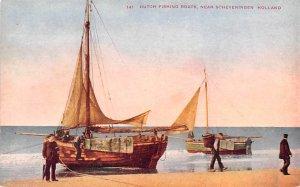 Dutch Fishing Boats Scheveningen Holland Unused