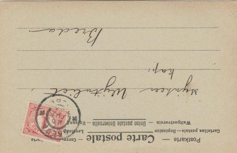 La Poste Dans La Republique Argentine , 1902