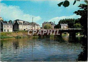 Postcard Modern Gacilly Morbihan Bridge Aff