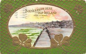 Ireland Saint Patrick's Day 1911 a lot of corner and edge wear, postal markin...