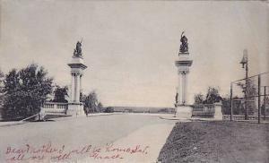 Main Entrance to Highland Park, Pittsburgh, Pennsylvania, PU-1906