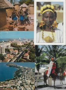SENEGAL 163  AFRIQUE Cartes Postales 1960-1990.