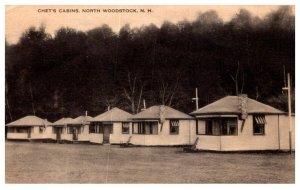 New Hampshire North Woodstock Chet's Cabins