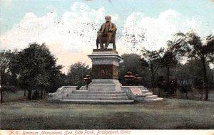P.T. Barnum Monument Bridgeport, Connecticut USA Circus 1907