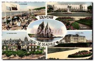 Modern Postcard Souvenir de Deauville