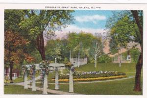 Illinois Galena Pergola In Grant Park
