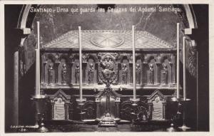 RP, Urna Que Guarda Las Cenizas Del Apostol Santiago, Santiago (Galicia), Spa...