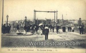 Brest, France, Carte, Postcard le Pont National Brest le Pont National