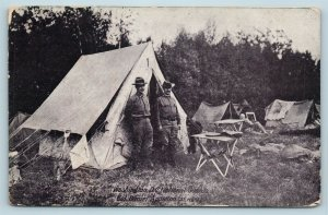 Postcard Washington DC National Guards Col Daniel Appleton C39