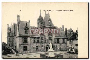 Old Postcard Bourges The Jacques Coeur palace