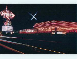 Unused Pre-1980 LIDO ON SIGN AT STARDUST CASINO HOTEL Las Vegas NV Q5524-12
