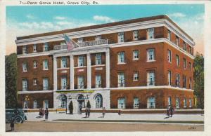 GROVE CITY , Pennsylvania, 1910-20s ; Pen nGrove Hotel