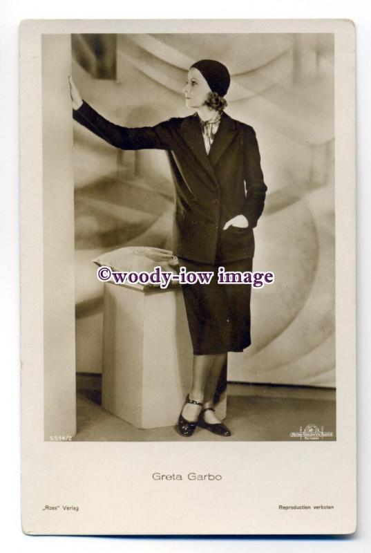b4478 - Film Actress - Greta Garbo - postcard