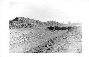 Port Covington Baltimore Maryland Railroad Platform Real Photo Postcard J78026