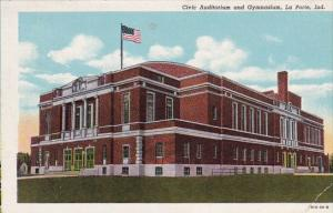Civic Auditorium And Gymnasium La Porte Indiana 1953