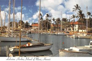 Lahaina Harbor - Maui, Hawaii, USA