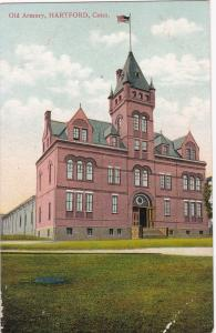 HARTFORD , Connecticut, 1900-10s ; Old Armory