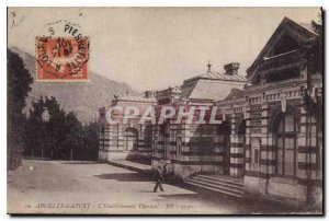 Old Postcard Argeles Gazost Spa Establishment