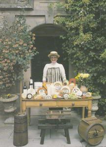 Wensleydale Cheese Creamery Dairy Gayle Lane Hawes Yorkshire Postcard