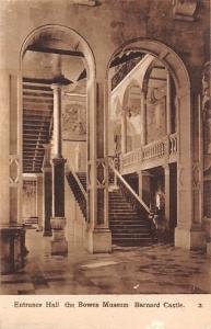 England (Durham) Barnard Castle, The Bowes Museum, Entrance Hall