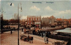 CPA GRONINGEN Basculebrug NETHERLANDS (604323)