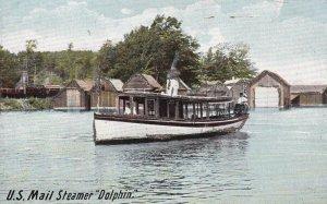 MAINE, 1901-1907; U.S. Mail Steamer Dolphin