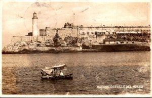 Cuba Havana Castillo Del Morro & Lighthouse 1940 Real Photo