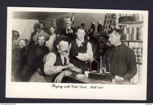 Dawson (Yukon) - Paying gold dust Fall 1899 - 1950s? RPPC real photo postcard