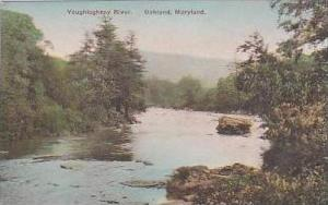 Maryland Oakland Youghiogheny River Handcolored Albertype