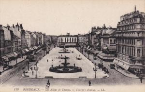 BORDEAUX, Gironde, France, 1900-1910´s; Les Allees De Tourny