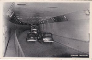 Cars in Maastunnel, ROTTERDAM, South Holland, Netherlands, 30-50s