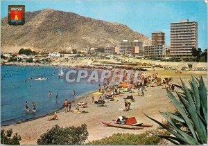 Postcard Modern Alicante beach