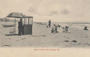 OLD ORCHARD BEACH , Maine , 1907 ; The Beach