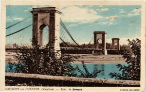 CPA CAUMONT sur DURANCE - Pont de Bompas (477461)
