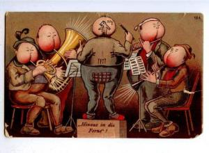177050 Music of POP Orchestra Vintage COMIC colorful PC