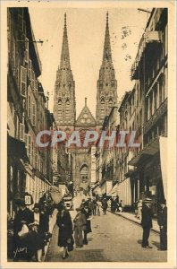 Old Postcard Auvergne - Clermont-Ferrand (P.de.D) .The view of the Cathedral ...