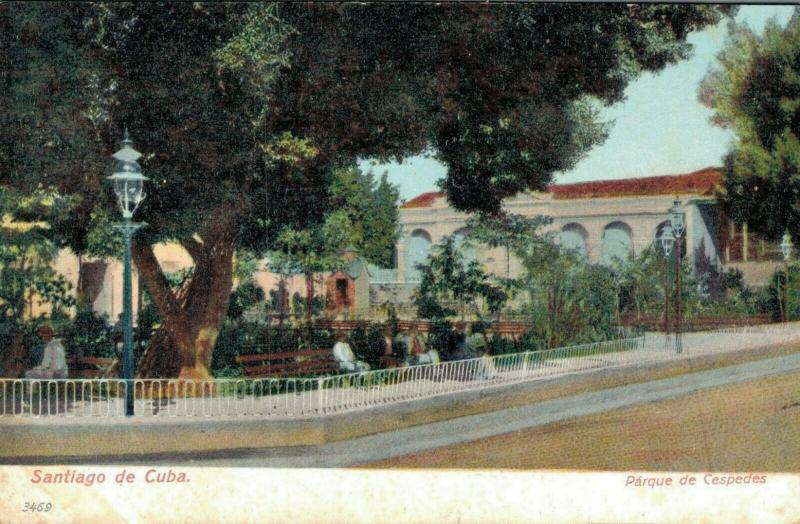 Cuba Santiago de Cuba Parque de Cespedes 02.17
