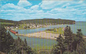 Canada New Brunswick Covered Bridge At Alma