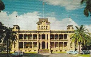 Hawaii Honolulu Iolani Palace