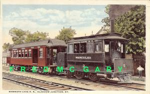 1917 Glasgow Junction KY PC: Mammoth Cave Railroad 'Hercules 3'