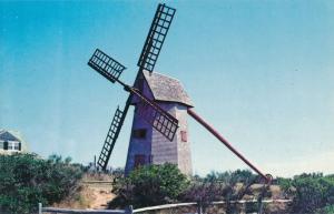 The Old Windmill on Nantucket MA, Massachusetts