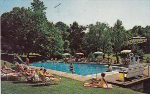 Pennsylvania Stroudsburg Stroudsmoor Resort With Pool 1976