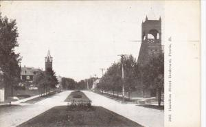 Illinois Peoria Hamilton Street Boulevard