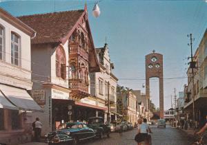 BLUMENAU, Santa Catarina, Brazil , 1940-60s; Street View