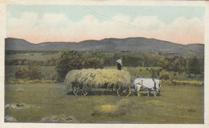 CAMBRIDGE SPRINGS, Pennsylvania, PU-1925 ; Farming Scene